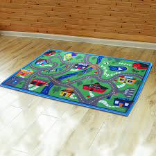 yazi play game mat racing track carpet children baby kids interest