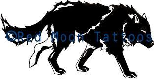 black wolf by moon on deviantart