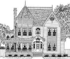 Queen Anne House Plans Historic 63 Best Victorian House Plans Images On Pinterest Victorian