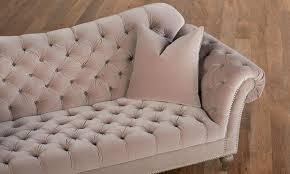 jessica jacobs velvet parisian eiffel button tufted sofa the