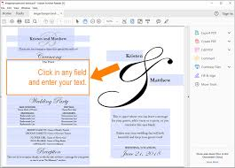 how to use editable wedding fan template pdfs
