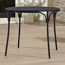 Barrel Bistro Table Bistro Tables Crate And Barrel