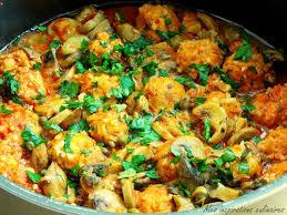 cuisine du poisson tajine de boulettes de poisson chignons et courgette le