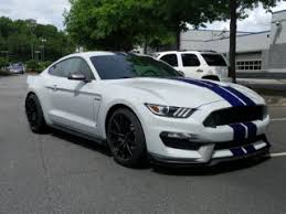 Silver Mustang With Black Stripes Used Ford Mustang For Sale Carmax