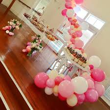 kitchen tea party ideas pretty pinks for a kitchen tea party pinks pinkballoons