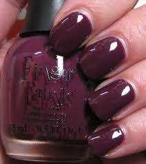 finger paints shades of fall u0026 sally hansen rockstar pink body