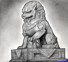 foo dog sculpture how to draw a foo dog foo dog statue step by step pop