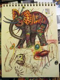 colorful original fine art paintings and drawings by john a kurtz