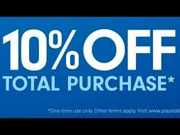 10 off discount code any purchase playstation store youtube
