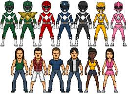Turbo Power Rangers 2 - image mighty morphin power rangers 2 by omniferis d41cqj0 png