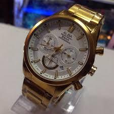 Jam Tangan Alba Emas jual jam tangan pria terbaik alba silver emas jamkwonline