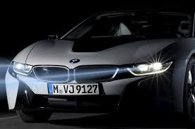 bmw laser headlights bmw i8 features spectacular laser headlights photos carhoots