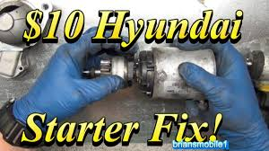 2004 hyundai accent starter 10 hyundai starter fix
