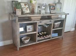 sideboards glamorous dining room buffet with wine rack sideboard
