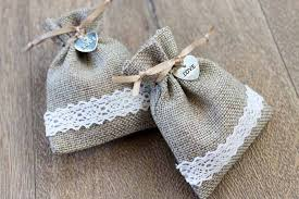 burlap wedding favor bags burlap wedding favor bags the country chic cottage