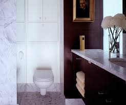 modern toilet tanks with white countertop powder room contemporary