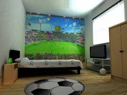 Decor Picture More Detailed Picture by Ideas Soccer Bedroom Decor Regarding Splendid Sticker Gun