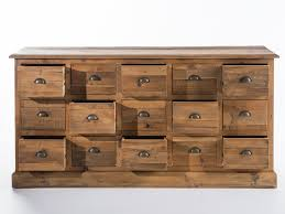 meuble cuisine avec tiroir meuble cuisine 15 cm 10 buffet bas en bois avec tiroirs
