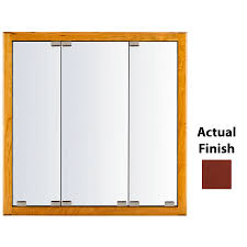 lowes com medicine cabinet shop kraftmaid classic 36 in x 30 in square surface recessed