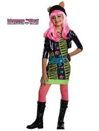 monster high classic clawdeen wolf costume for girls party city