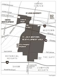 Stl Metro Map by With 1 Billion Poised To Flow Into Projects Near Campus Slu