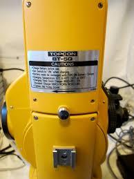 topcon gts 2b theodolite semi total station src 5 case