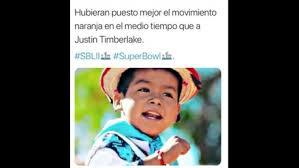 Memes Del Super Bowl - super bowl 2018 los memes del niño que ignoró a justin timberlake