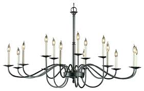 Simple Wrought Iron Chandelier Simple Black Chandelier Forge Light Simple Lines Large Scale
