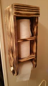 Recessed Toilet Paper Holder With Shelf Creative Toilet Paper Holder Ideas Which Enhance The Look Of Your