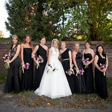 black bridesmaid dresses wedding ideas black bridesmaid dresses for summer wedding