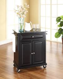 Kitchen Island With Black Granite Top Kitchen Islands Ideas Kitchen Island Design Roots Rack Cart With