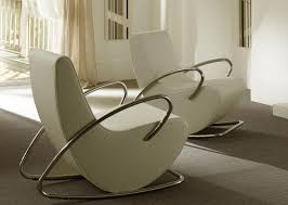 White Rocking Chair Rocking Chair At Modern Interior