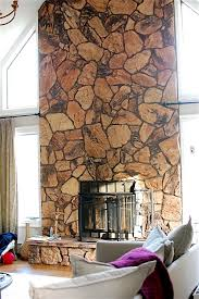i need help for my ugly stone fireplace can i paint it laurel home