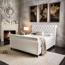 sleigh bed for less overstock com