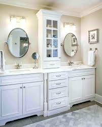 Bathroom Countertop Storage Ideas Bathroom Counter Storage Tower Dynamicpeople Club