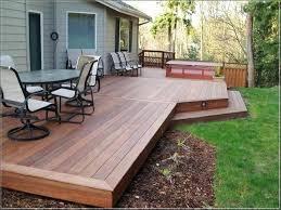 Wood Patio Deck Designs Patio And Deck Ideas For Backyard Backyard Deck Design Backyard