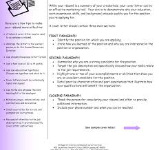 cover letter to resume 22 and example letters for resumes free
