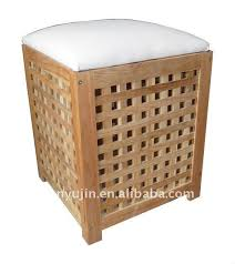 Bathroom Storage Seats The Simple Additions For Relaxing Bathroom Stool Pertaining To