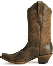 womens boots distressed leather corral distressed leather boots snip toe