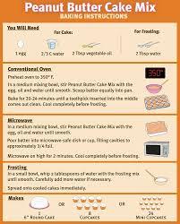 amazon com puppy cake wheat free peanut butter cake mix and