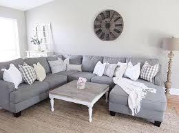 small grey sectional sofa light grey sectional sofa ashfield modern fabric 9 quantiply co