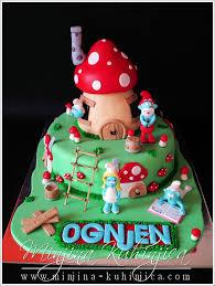 smurfs u2014 children u0027s birthday cakes occasions kids birthdays