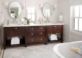 Design Ideas For Brushed Nickel Bathroom Mirror Homey Ideas Oval Bathroom Mirrors On Bathroom Mirror Home Design