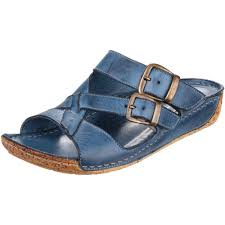 cotswold womens ladies tetbury open toe leather mule sandals