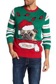 pug sweater sweater led pug with cookies sweater nordstrom rack