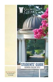 students guide by georgia college issuu