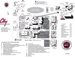 Scc Campus Map City College Map Adriftskateshop