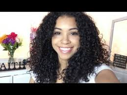 short hair layered and curls up in back what to do with the sides layering curly hair subtle layers youtube