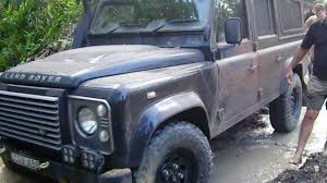 land rover australian 110 land rover defender driving gunshot creek cape york