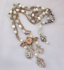 rosary bead necklace jewelry images 98 best rosary ideas images rosaries prayer beads jpg